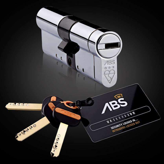 ABS 3* Euro Cylinder