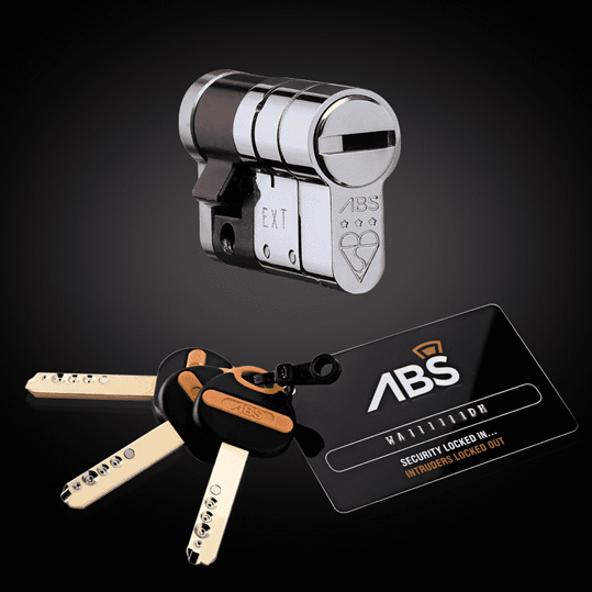 ABS 3* Single Euro Cylinder