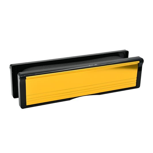 12″ 300mm Fire Rated Letterplates for UPVC Doors – 40-80mm